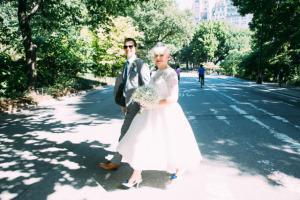 Central Park E&L Wedding street