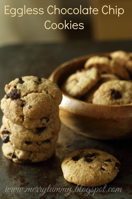 Chocolate Chip Cookies: Best Eggless Recipe - Paperblog