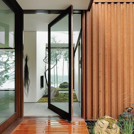 6 Homes with Weathering Steel Designs - Paperblog