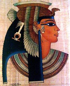 Cleopatra the last of the Ptolemy family