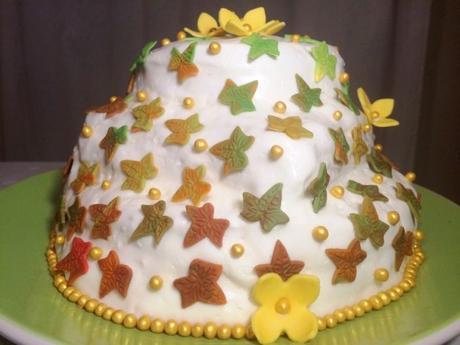 gbbo lemon drizzle gluten free showstopper three tier autumn decoration cake recipe