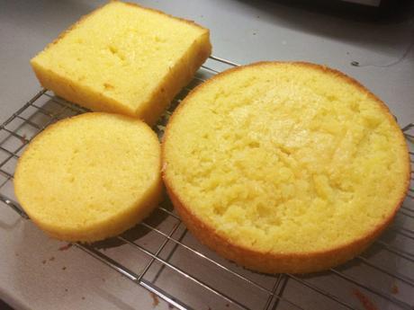 gluten free lemon cake easy recipe three tier showstopper