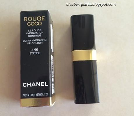 Chanel Rouge Coco Etienne #446 review