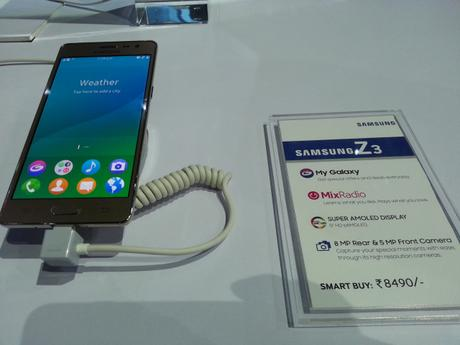 Highlights of Samsung's Tizen based Z3