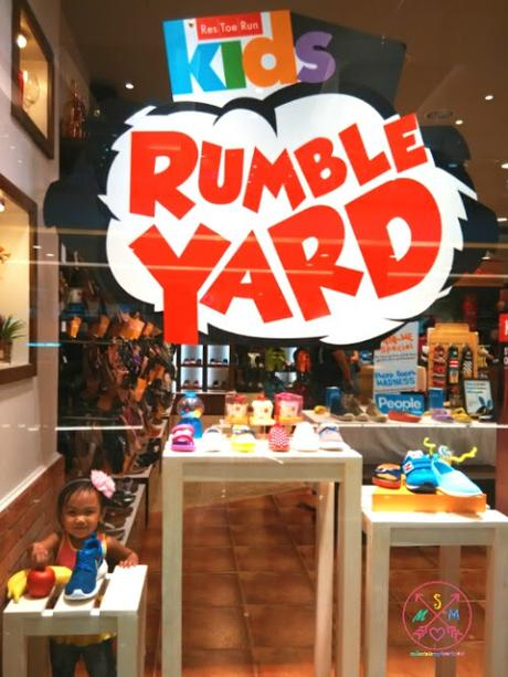 Bonding at Res|Toe|Run Kids Rumble Yard