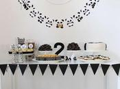 Super Cute Creative Panda Party Little Paper Plate Events
