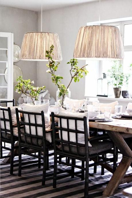 Comfortable casual spaces paperblog for Casual dining room light fixtures