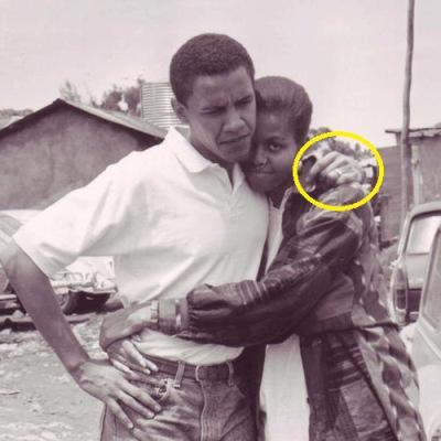 Obama & Michelle on first date