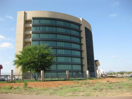 Headquarters of the South African Development Community in Gaborone, Botswana. (Photo: Wikimedia Commons)
