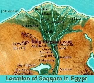 Ancient Egypt Maps