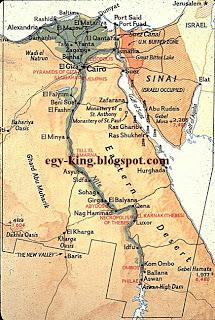 Ancient Egypt Maps Paperblog - Map of ancient egypt 3000 bc