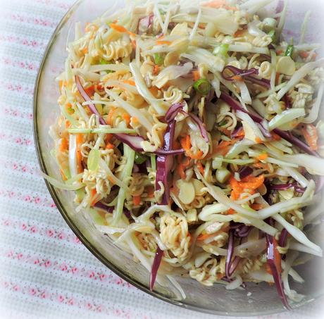 Chinese Coleslaw* Makes 12 to 16 servings Printable Recipe