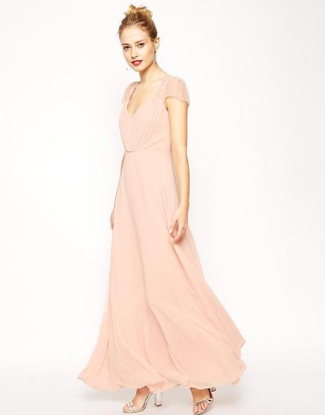 15 Blush Bridesmaid Dresses Under $250 - Paperblog