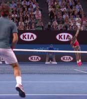 Federer split steps as Nadal serves In tennis, the split ...