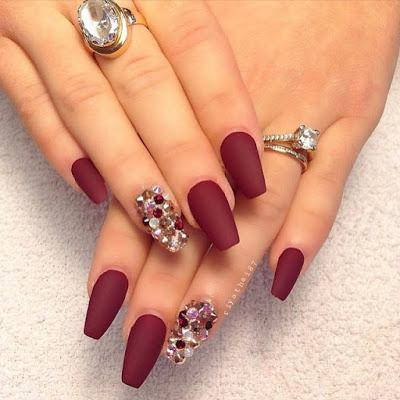 1000 Ideas About Fall Nails On Nail Colors - Nail Designs Fall Colors - Best Nail Ideas