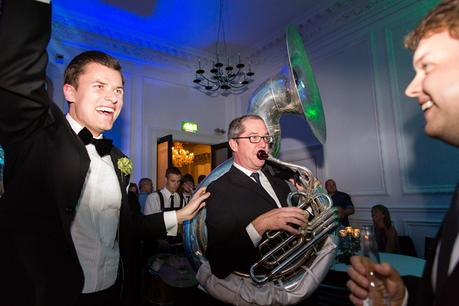 Leeds Club Wedding Photography New York Brass Band Party