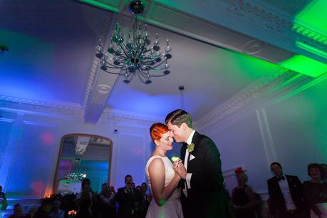 Leeds Club Wedding Photography Rooftop First Dance