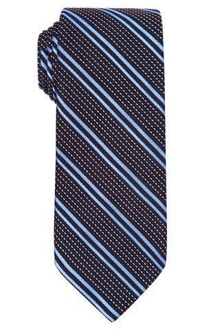 navy blue grenadine tie