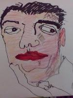 My Drawings of Faces:  Including Hollywood Stars