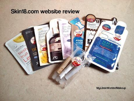 Skin18.com website review -say hello to wonderful skin