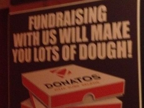 Hey, Donatos thought of a pun!