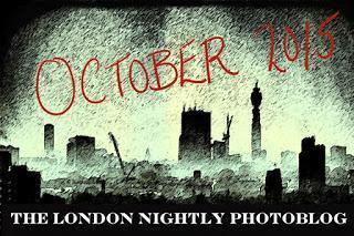 The #London Nightly Photoblog For #Halloween2015… Churchyard Ablaze