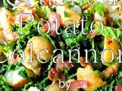 Crushed Potato Colcannon