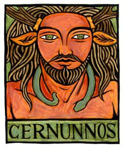 Herne the Hunter - Cernunnos - torc as serpent god?