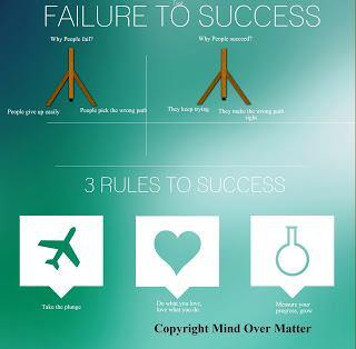 turning failure into success essay Being human means failing often  (and his brother) in his eventually successful  quest to develop dynamite (and went on to fund the nobel prize)  not all  failures turn into successes and many are indeed insurmountable.