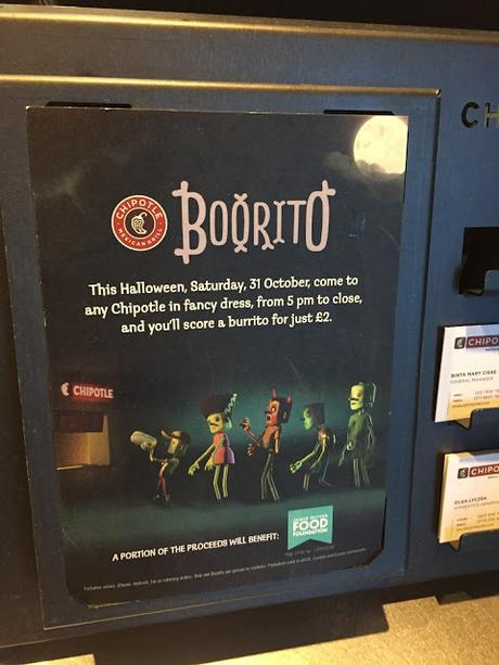 #HappyHalloween Bargain Booritos For Charity Thanks to @ChipotleUK & @jamieoliver