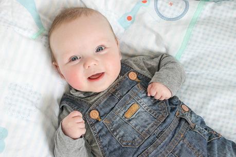 Logan at 4 Months