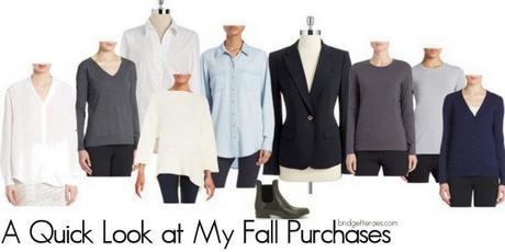 A Quick Look at My Fall Purchases