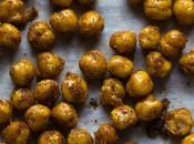Brown Sugar-Chili Roasted Chickpeas