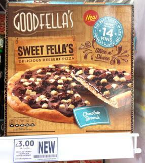 New Instore: Goodfella's Chocolate Brownie Pizza & More!
