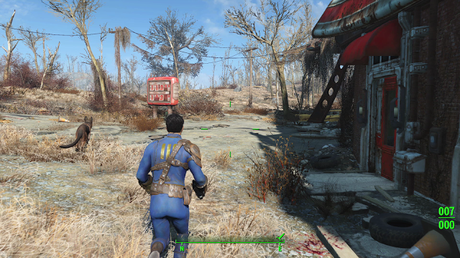 "The writing in Fallout 4 is ""everything you'd expect but better… taken to a new level,"" says actress"