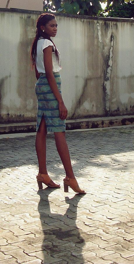 Yoruba Aso oke Skirt or Not?