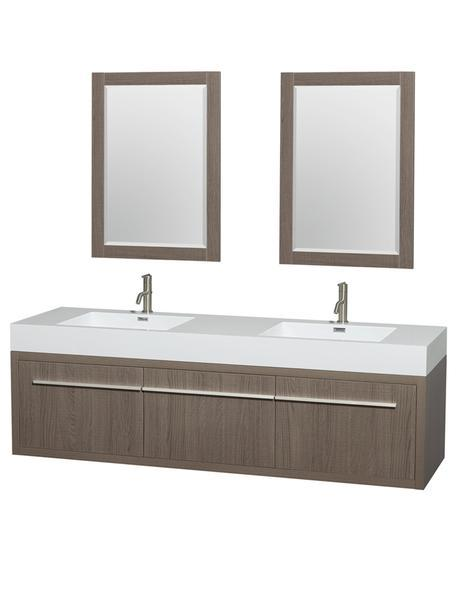 axa double sink vanity dual modern masculine floating design theme style wall mounted ideas tips advice how to designer luxury bathroom products