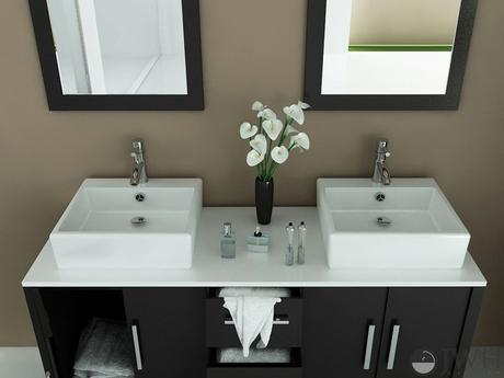 sirius double vessel sink vanity double modern masculine design theme style tips how to advice ideas designer dark sophisticated integrated