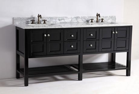 grand leo double vessel sink vanity dual large modern masculine design style theme tips ideas advice how to designer luxury bathroom products furniture