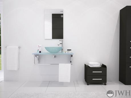 aries single vessel sink vanity small modern masculine floating wall mounted design style theme tips ideas how to advice designer luxury bathroom products