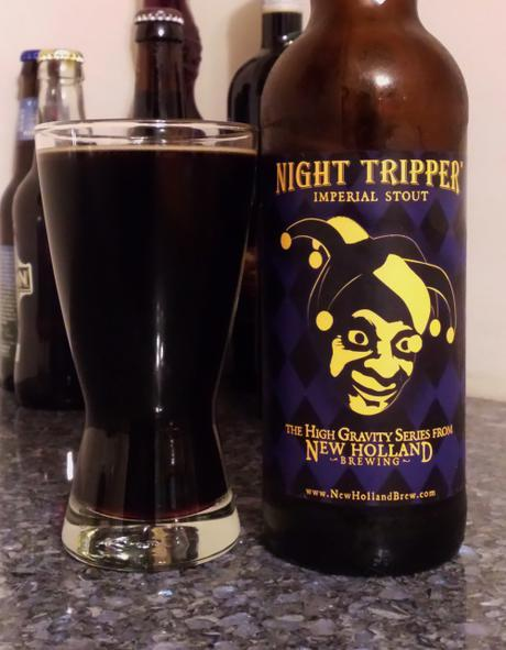 Beer Review – New Holland Night Tripper' Imperial Stout
