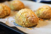 Pumpkin Parmesan Bread Rolls
