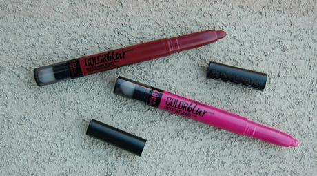 Lipstick Review: Maybelline Color Blur