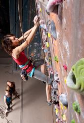 Climbing Every Mountain: Indoor Rock Climbing in Chicago - Paperblog