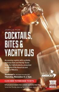 Craft Cocktails and Bites for Yachty Rock Thursday