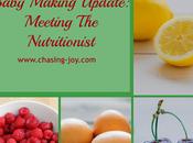 Baby Making Update: Meeting Nutritionist