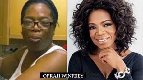 Oprah Winfrey 2013 No Makeup Friday Funny: L...