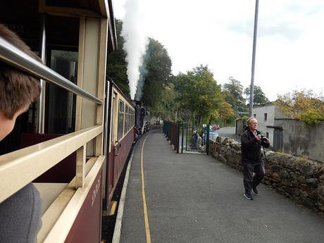 Riding the Welsh Highland Railway
