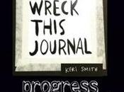 Wreck This Journal: Pages 86-89–Grocery, Stamps
