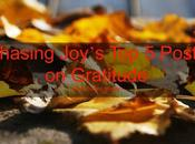 Chasing Joy's Posts Help Focus Gratitude